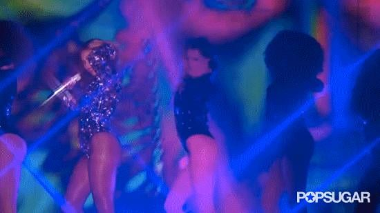 When She Blinded Us With Her Sequins and Beautiful Hair