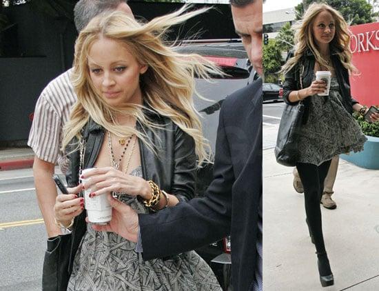 Photos of Nicole Richie in LA