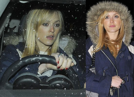 Fearne Steps Out in the Snow and Anticipates Her New Show
