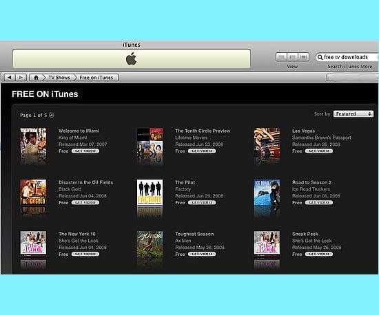 Find Free Movie Downloads on iTunes