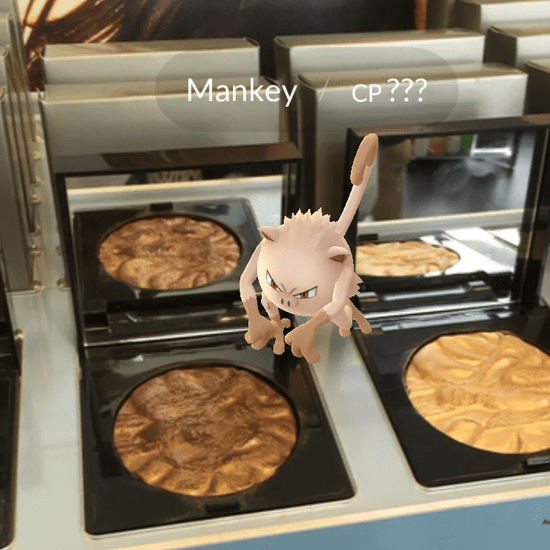 Pokemon Go Beauty Shopping