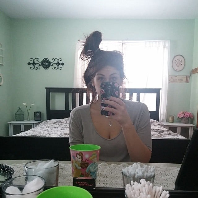 Your Hair Usually Looks Like This (Until You Leave the House)