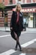 Take the grunge-inspired approach, and add a little plaid and sheer black tights to the mix. Source: Le 21ème | Adam Katz Sinding