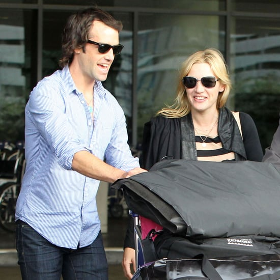 Kate Winslet and Ned Rocknroll PDA Pictures