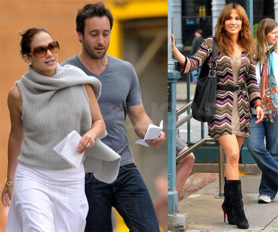Photos of Jennifer Lopez Filming The Back-Up Plan in NYC
