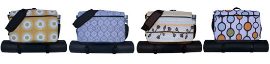 Modern Union Yoga Messenger Bags