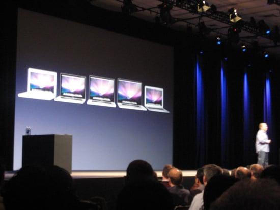 Cheaper MacBook Air Announced at 2009 WWDC Apple Keynote