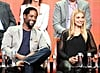 Blair Underwood and Spencer Grammer participated in a panel for Ironside.