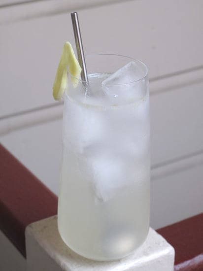 Healthy Spa Cocktail Recipe: Ginger Fizz