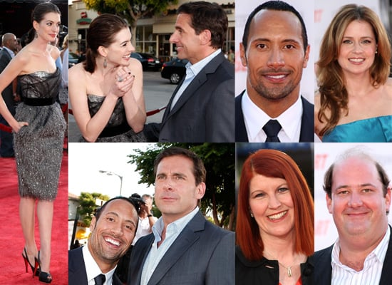 Photos of Anne Hathaway, Steve Carell and his The Office co-stars at the Get Smart premiere