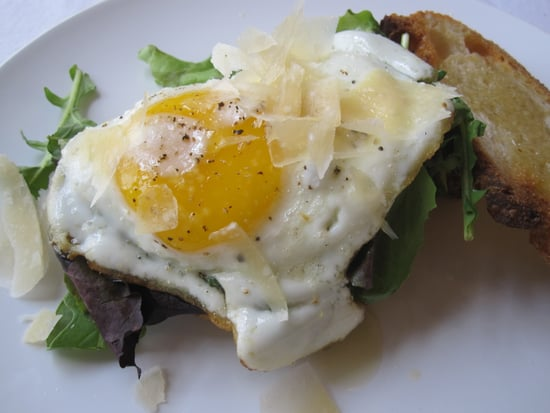 Vegetarian Fried Egg Sandwich Recipe
