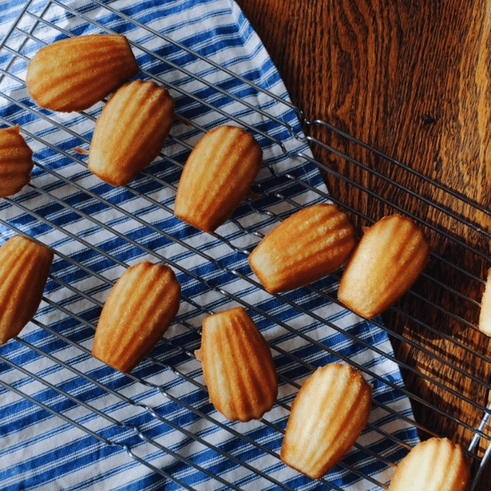 The Right Way to Eat Madeleines