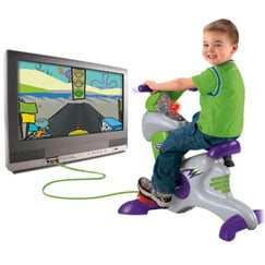 Exergaming: Fisher Price Smart Cycle