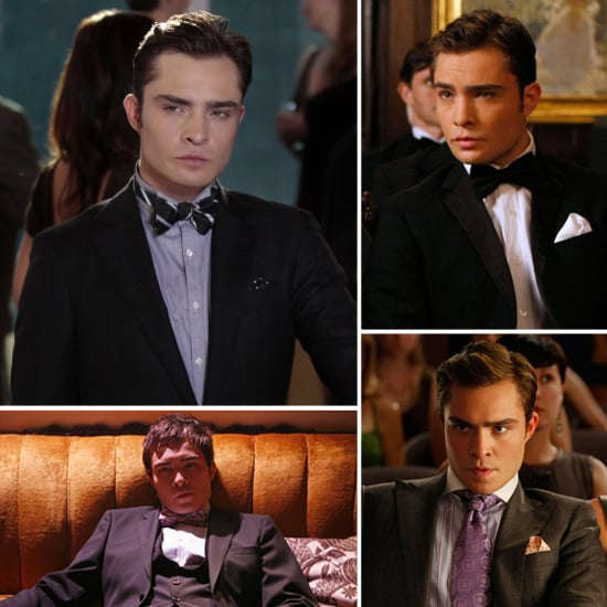 He's Chuck Bass: See His Sexiest Smoulders