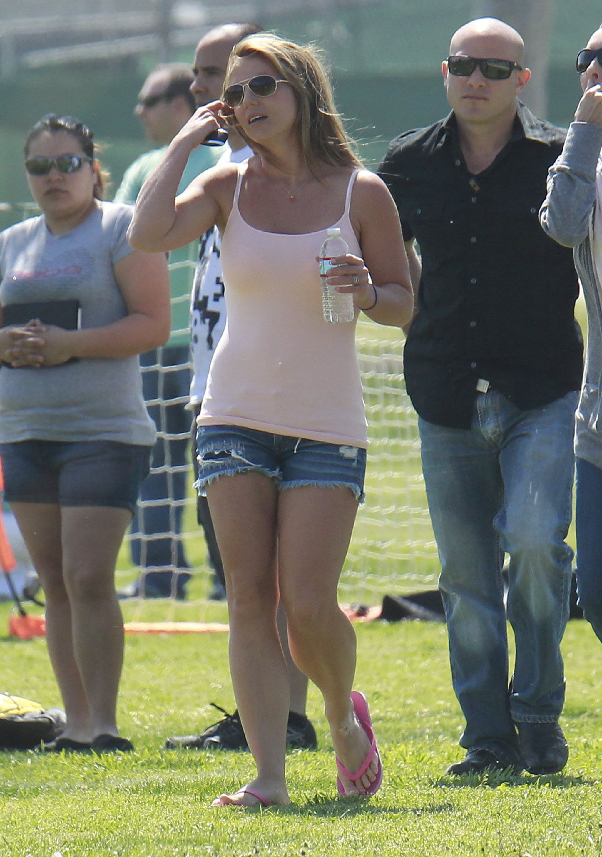 Britney Spears Gets in Soccer Mom Mode With Ex Kevin Federline
