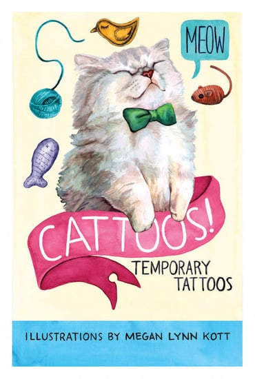 "We Talk to Megan Lynn Kott About Her ""Cattoos!"" Book"