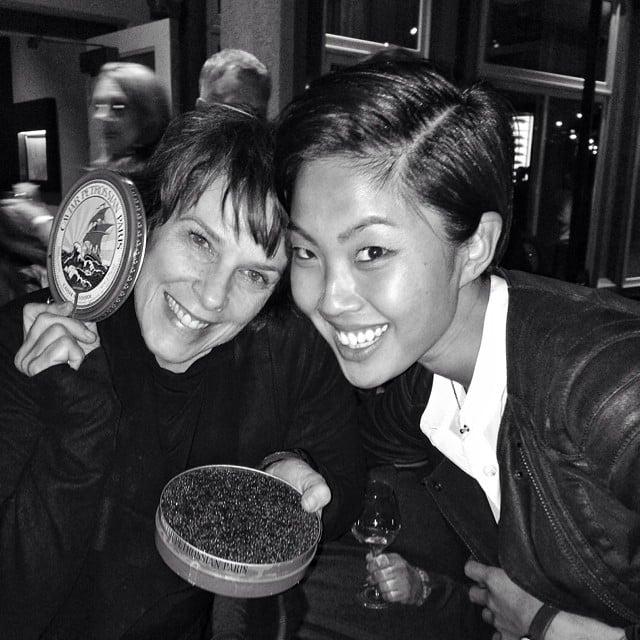 Kristen Kish and Barbara Lynch Ate a Ton of Caviar
