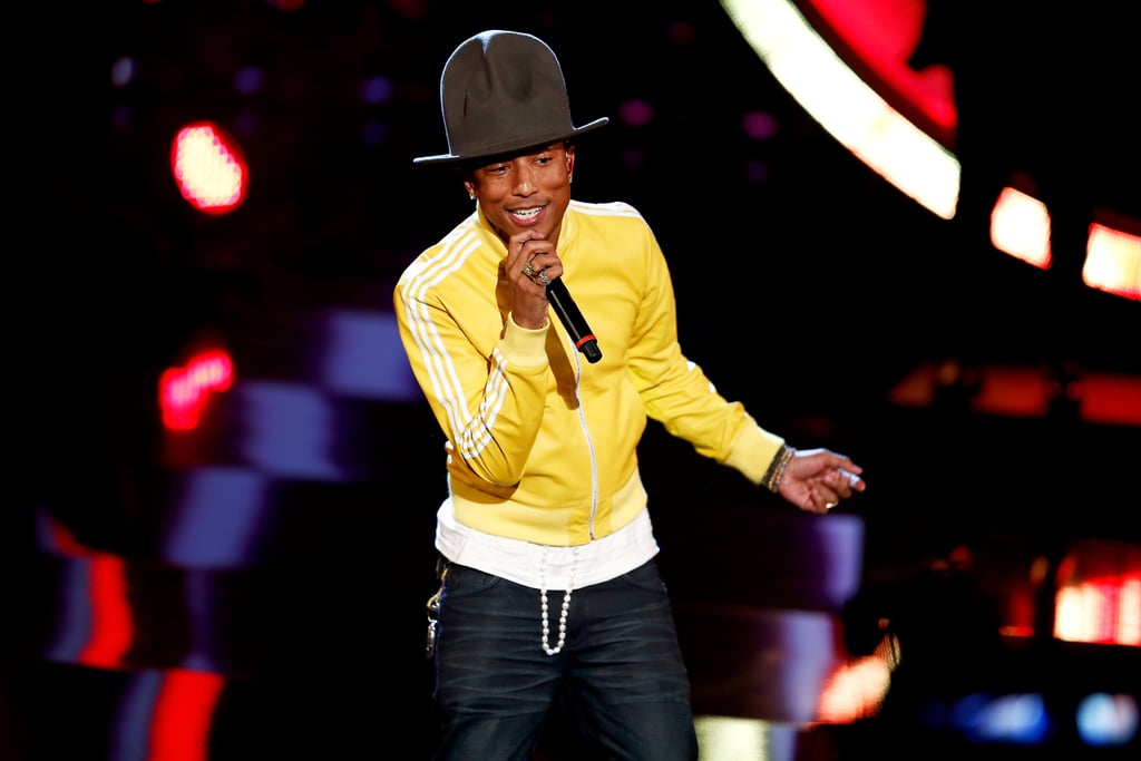 Pharrell's hat ironed out its international appeal when the two made an appearance on a German TV show.