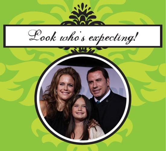 John Travolta and Kelly Preston Share Baby News