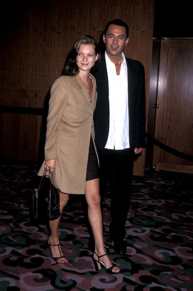 1996: Attending Michael Awards for Fashion