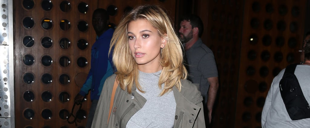 Hailey Baldwin's Denim and Heels Combo Looks Simple, Until You Zoom in on This Detail