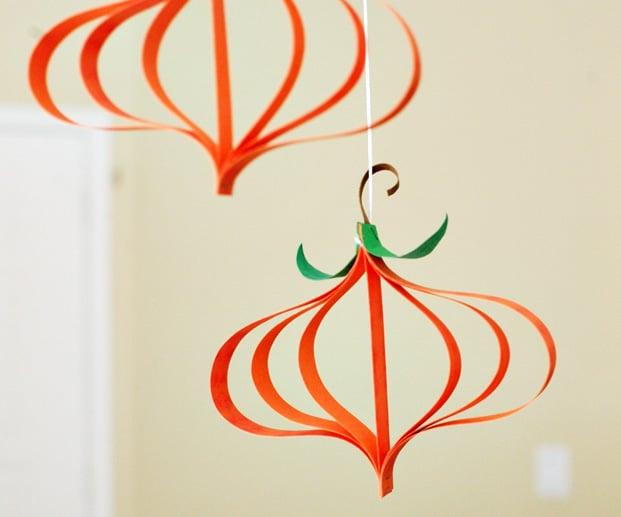 Fall Pumpkin Craft