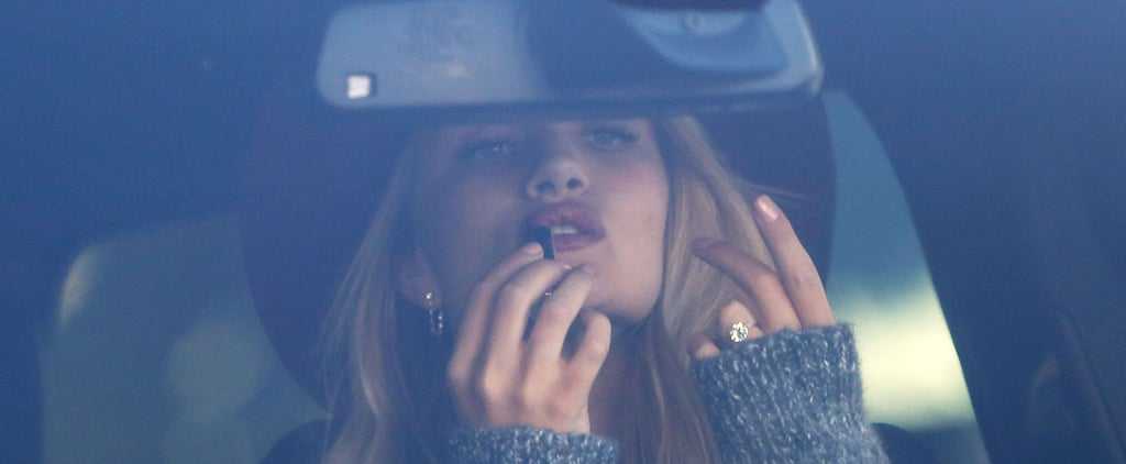 Rosie Huntington-Whiteley Shows Off Her $350,000 Engagement Ring From Jason Statham
