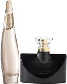 Bulgari Jasmin Noir and Donna Karan Cashmere Mist Liquid Nude Reviews
