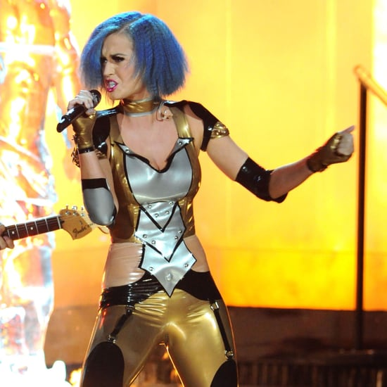Katy Perry Grammys Performance Pictures & Part of Me Lyrics