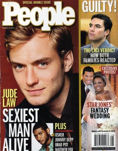 Jude Law was the sexiest man alive.