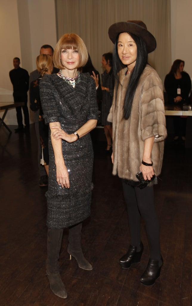 Anna Wintour and Vera Wang