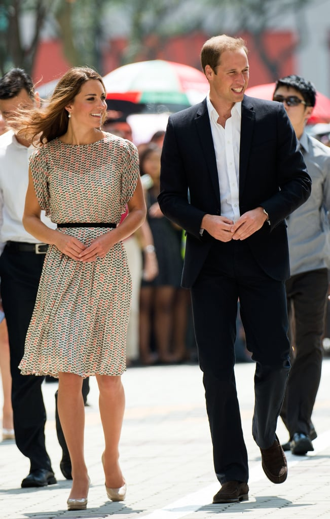 In September, Kate Middleton and Prince William attended a cultural event in Queenstown during their Diamond Jubilee tour in Singapore.