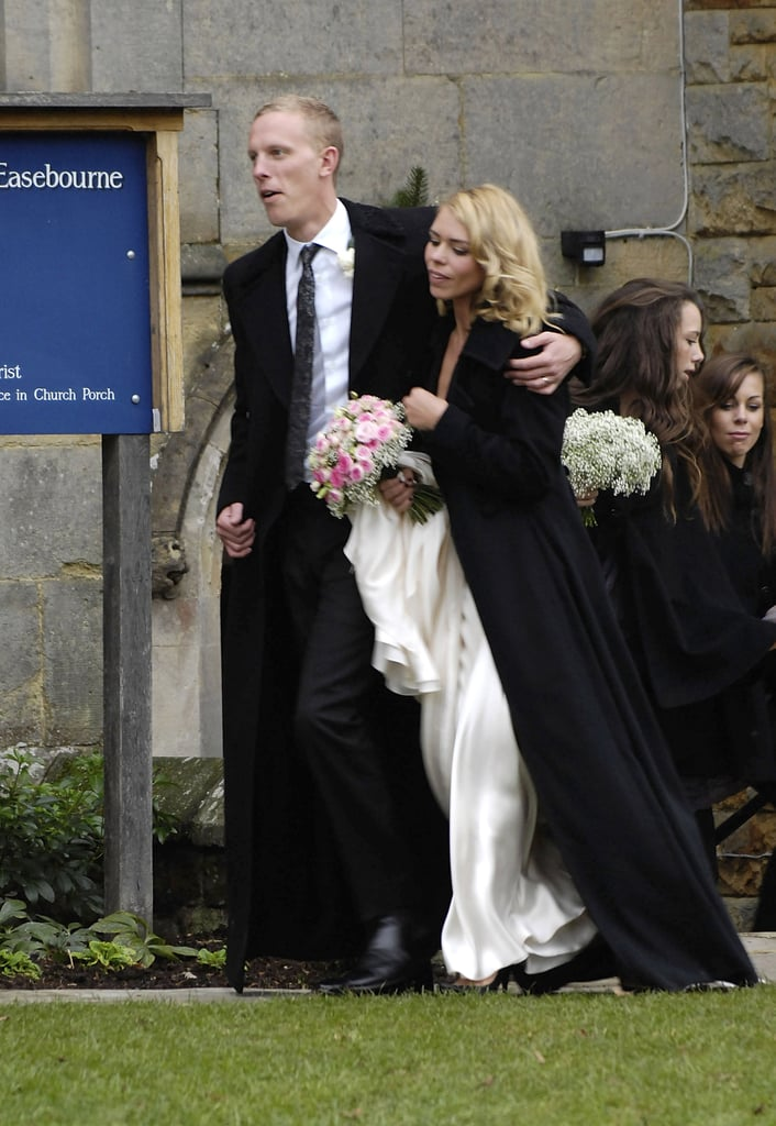 Secret Diary of a Call Girl star Billie Piper married husband Laurence Fox in December 2007 in England.