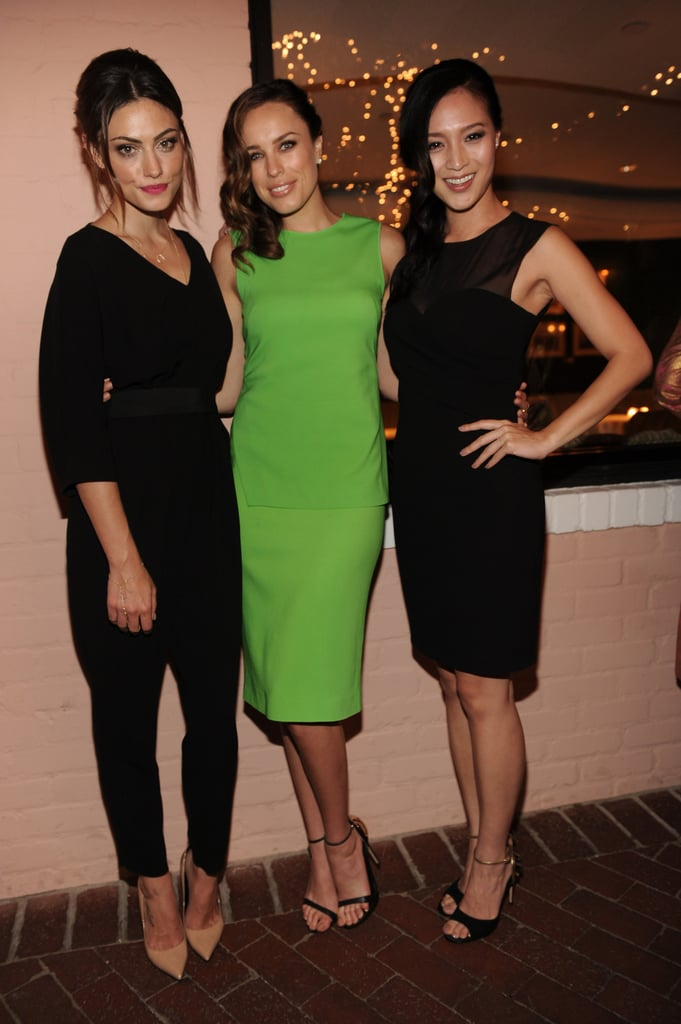 Phoebe Tonkin, Jessica McNamee and Grace Huang
