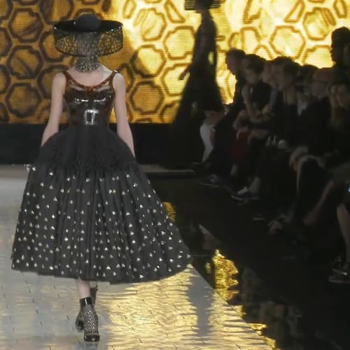 Alexander McQueen Spring 2013 Runway (Video)