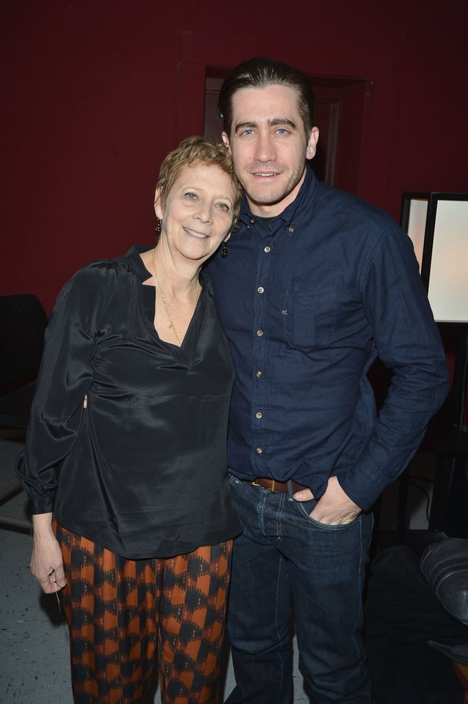 He shared a sweet moment with his mom, Naomi Foner, at the Sundance Film Festival in January 2013.