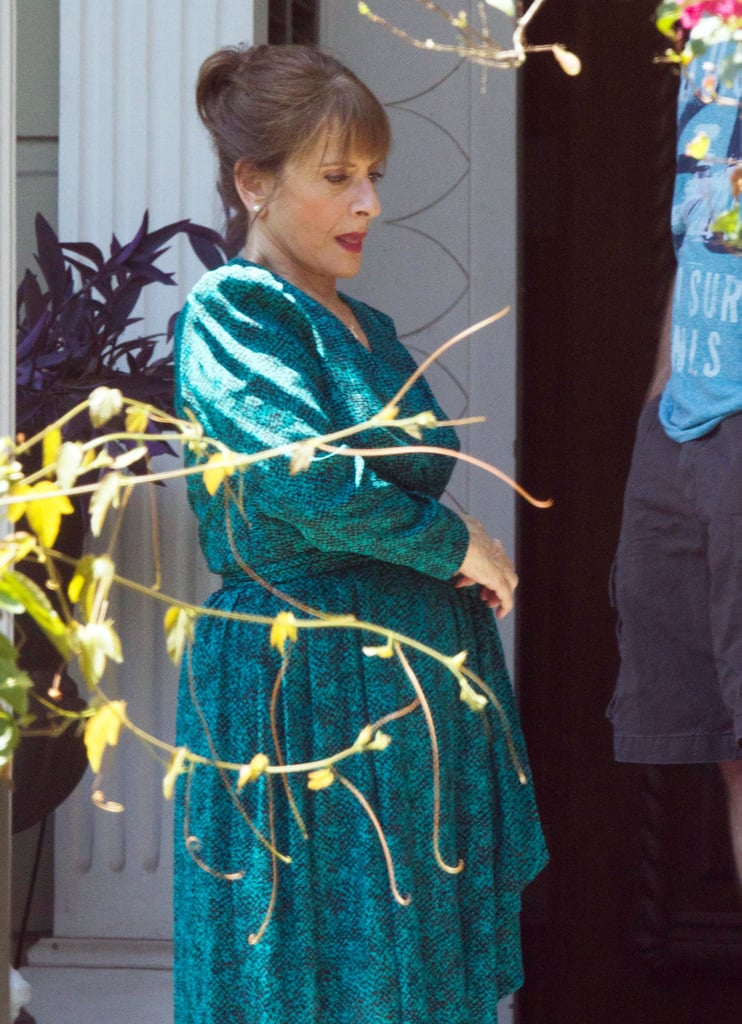 Patti LuPone spent Tuesday filming scenes for American Horror Story: Coven in New Orleans.