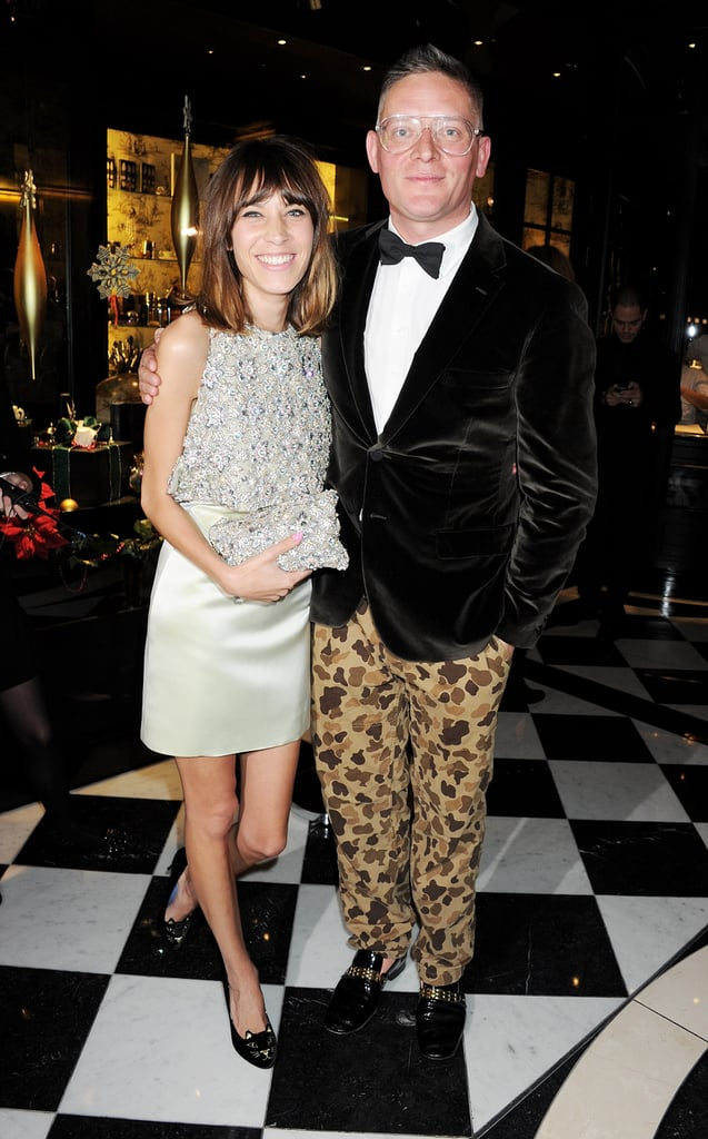 Alexa Chung and Giles Deacon