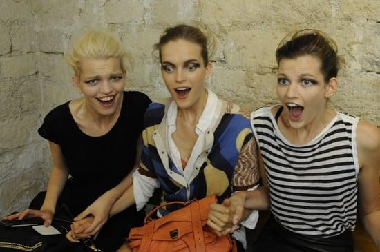 Spring 2012 Backstage Pictures: Dries van Noten, Rochas, Rue du Mail
