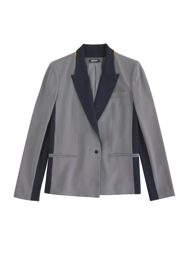 CARAD4DKNY Crepe One Button Jacket