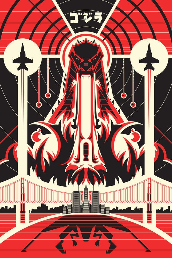 Etsy user RyanGuyatt created this poster ($10-$60 for various sizes) for the current film. We love the symmetry and seeing a peek of the San Francisco skyline!