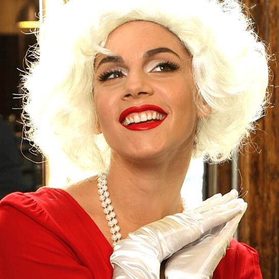 Marilyn Monroe Makeup For Halloween