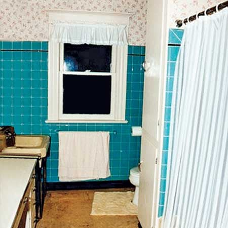Before and After:  A Better Bathroom