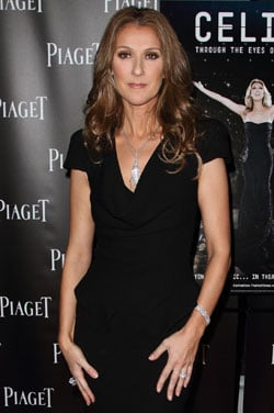 Pictures of Celine Dion Who Has Given Birth to Healthy Twin Boys