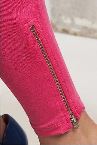 Zip Leggings '80s Style Shopping