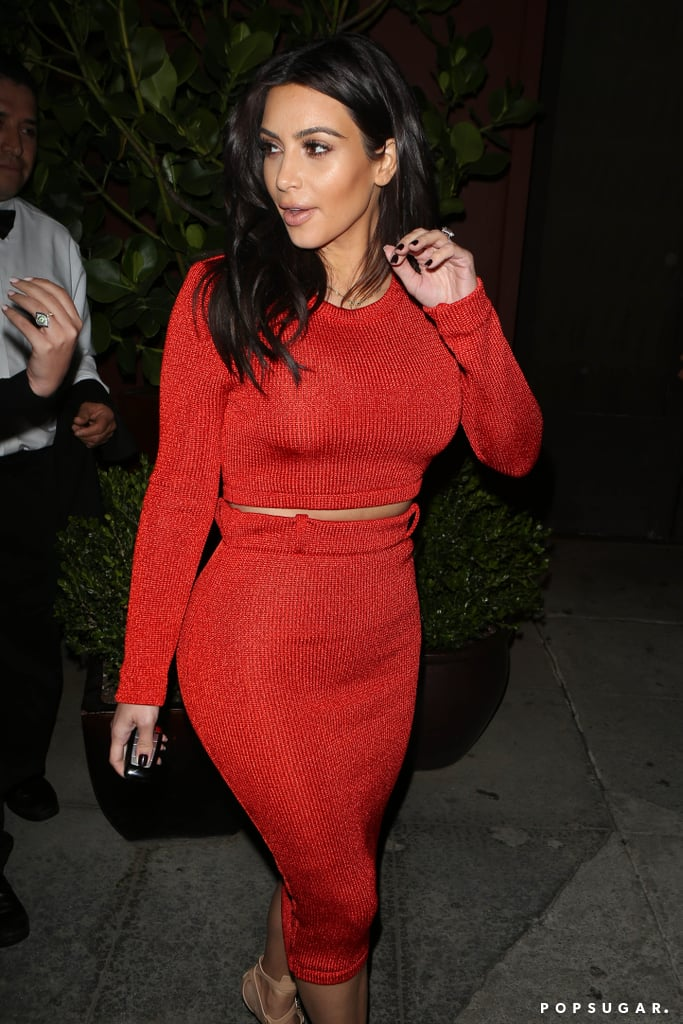 Don't Worry, Kim Kardashian Looks Normal Again