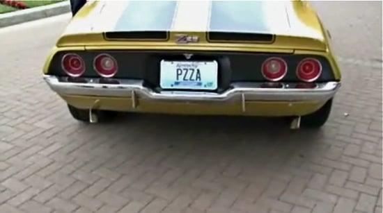 Papa John's Pizza Kicks Off $25,000 Camaro Contest