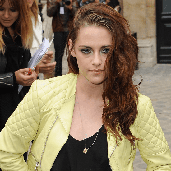 Kristen Stewart at Balenciaga Show in Paris 2012 | Video