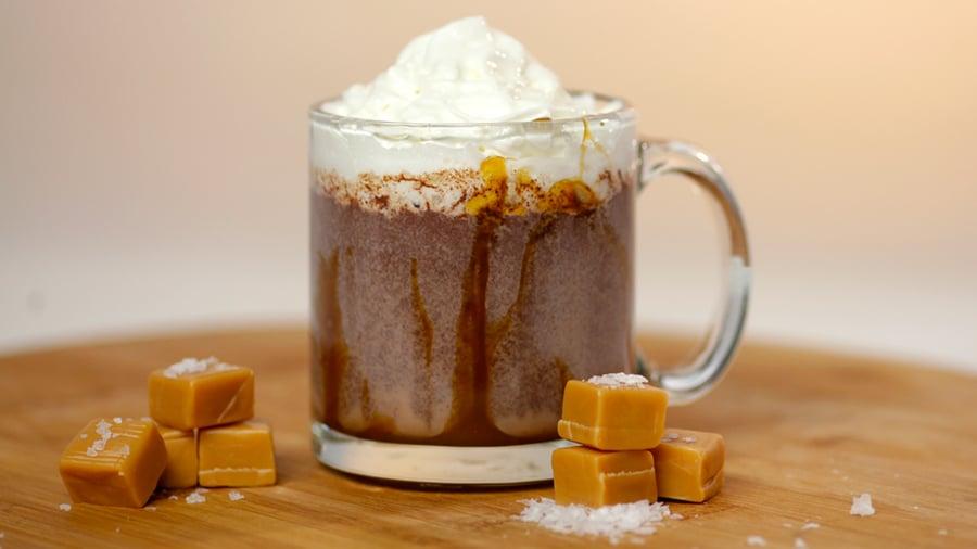 Dunkin' Donuts Salted Caramel Hot Chocolate