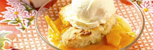 Perfect Summer Finish: Peach Crumble